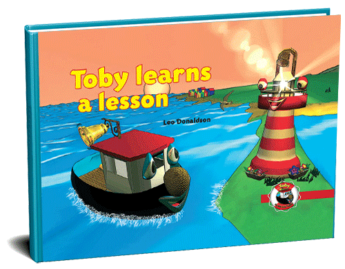 Toby learns a lesson 3D cover