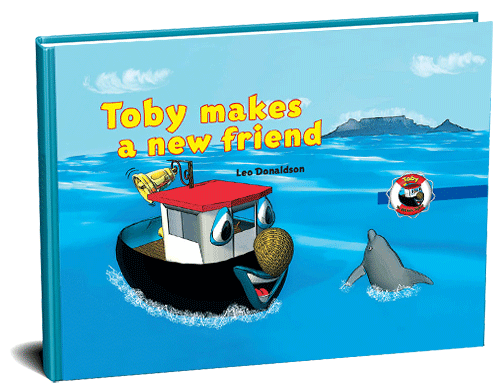 Toby makes a new friend 3D cover
