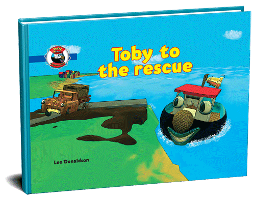 Toby to the rescue 3D cover