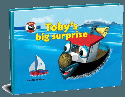 Tobys big surprise 3D cover